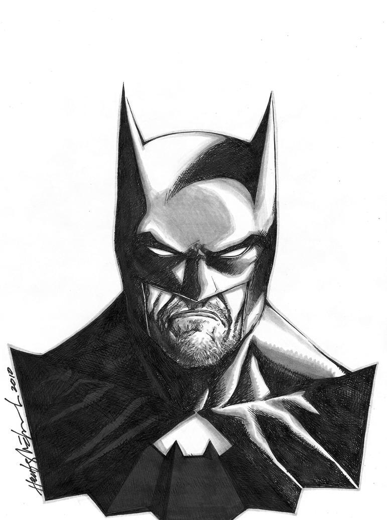Batman After-work Sketch By Wrathofkhan On DeviantArt