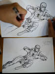 Drawing Spidey