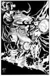 Odin and Hela inked
