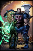 Evil Asgardians by wrathofkhan