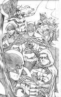 Batman Inc Detail by wrathofkhan