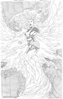 Dark Phoenix by wrathofkhan