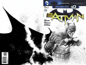 Batman #0 Sketch
