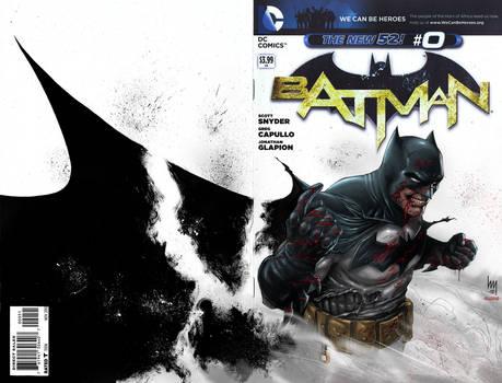 Batman #0 Sketch colored