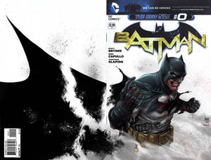 Batman #0 Sketch colored