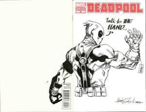 Deadpool's new weapon