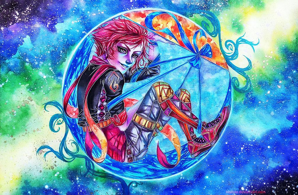 Constellation Crescent by Kishyie