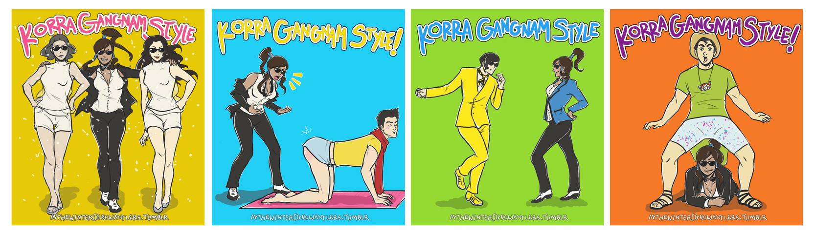 Korra Gangnam Style! by Kiniki-Chan