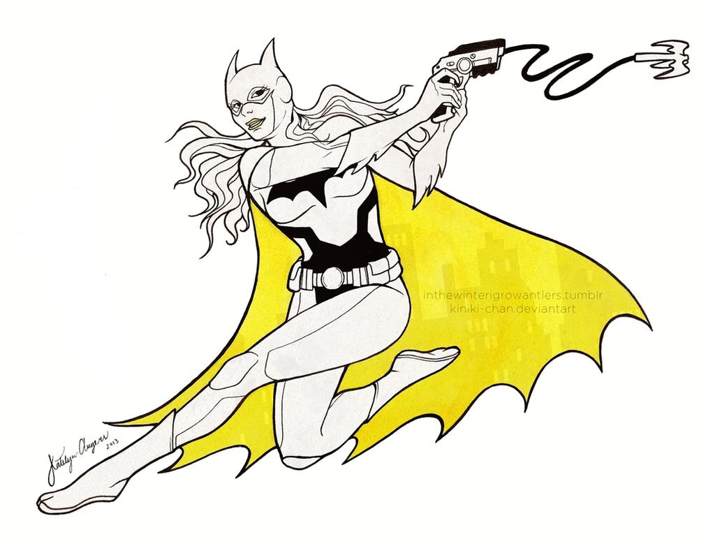 Batgirl by Kiniki-Chan