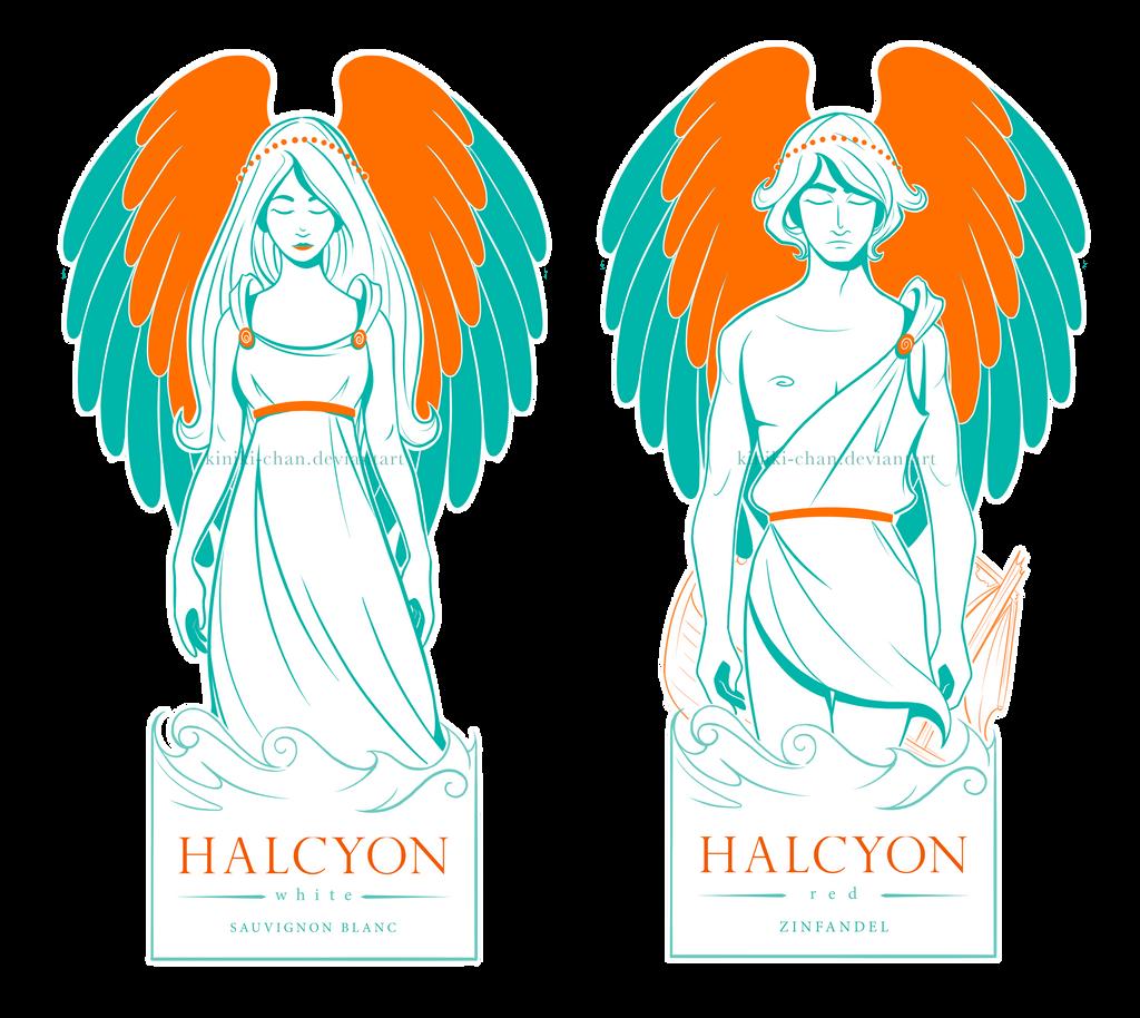 Halcyon Illustrations by Kiniki-Chan