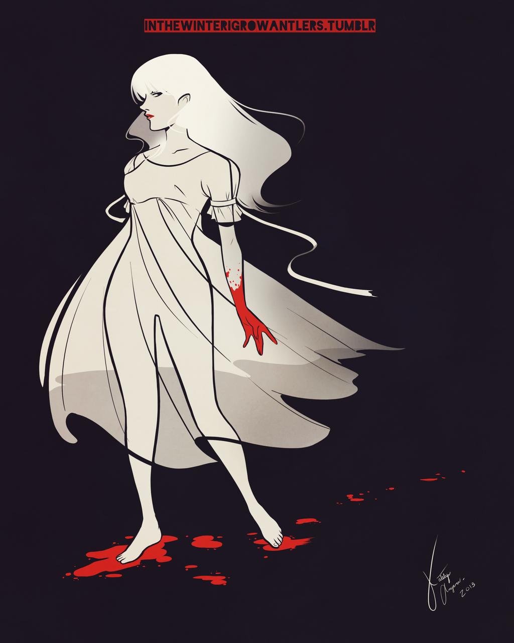 The White Lady by Kiniki-Chan