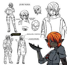 Drowtales Commission: Juri'nira Color by FireBorg