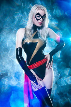 lovely Ms. Marvel Cosplay