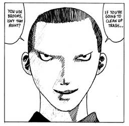 Kitano-san from Angel Densetsu by Mujibiki