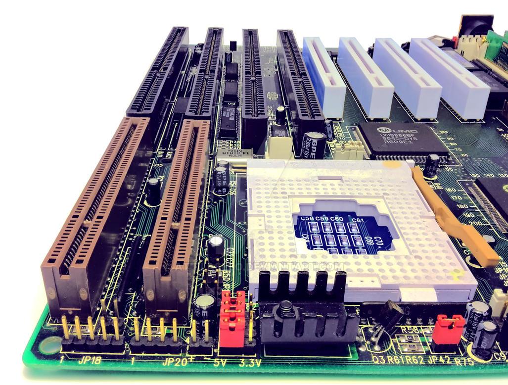 vintage VLB motherboard by attilasebo