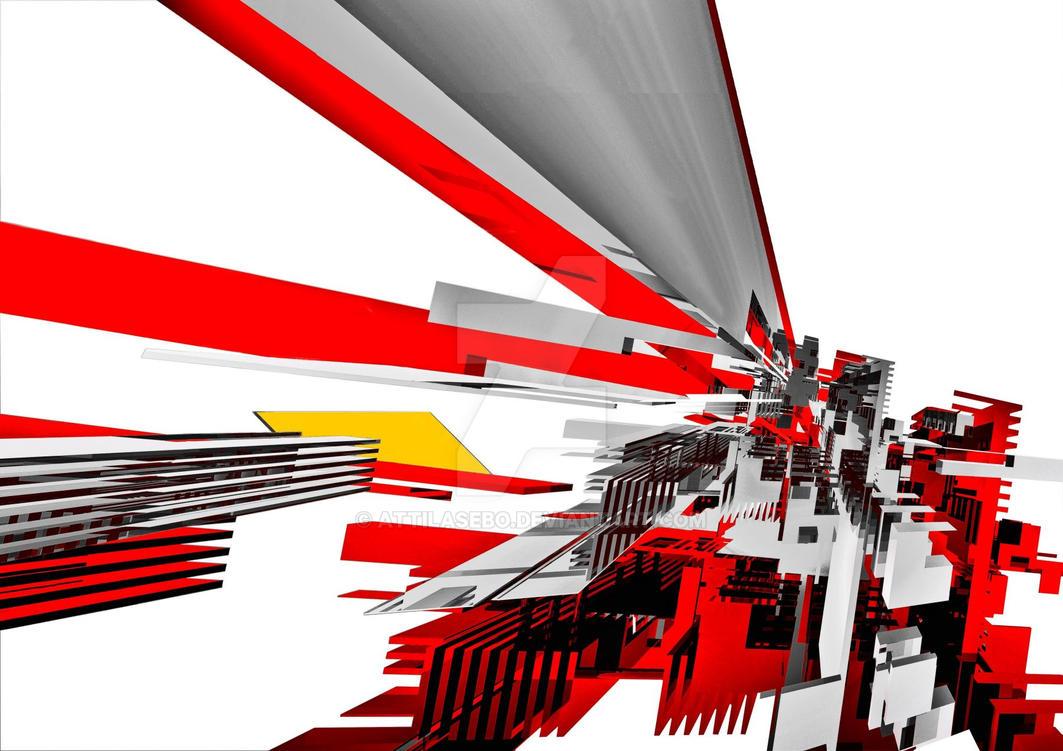 Futuristic City by attilasebo