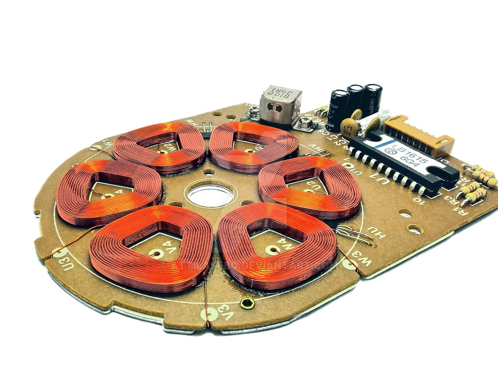 stator of a micro motor by attilasebo