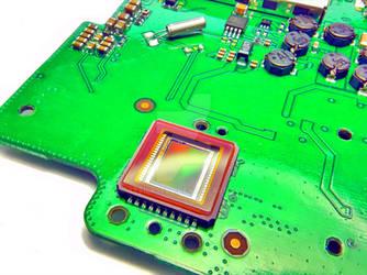 compact camera CCD and main board