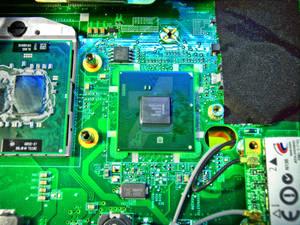 Notebook motherboard