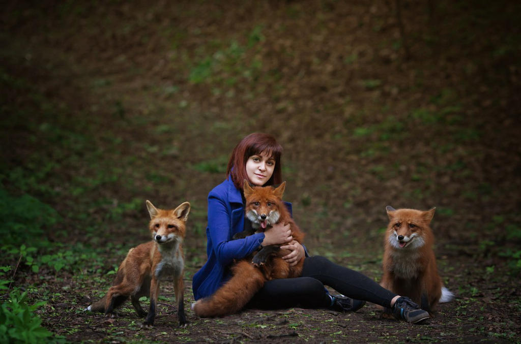 I am the mother of foxes))) by Gellariot