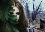 In the woods by aliceinstrangeland