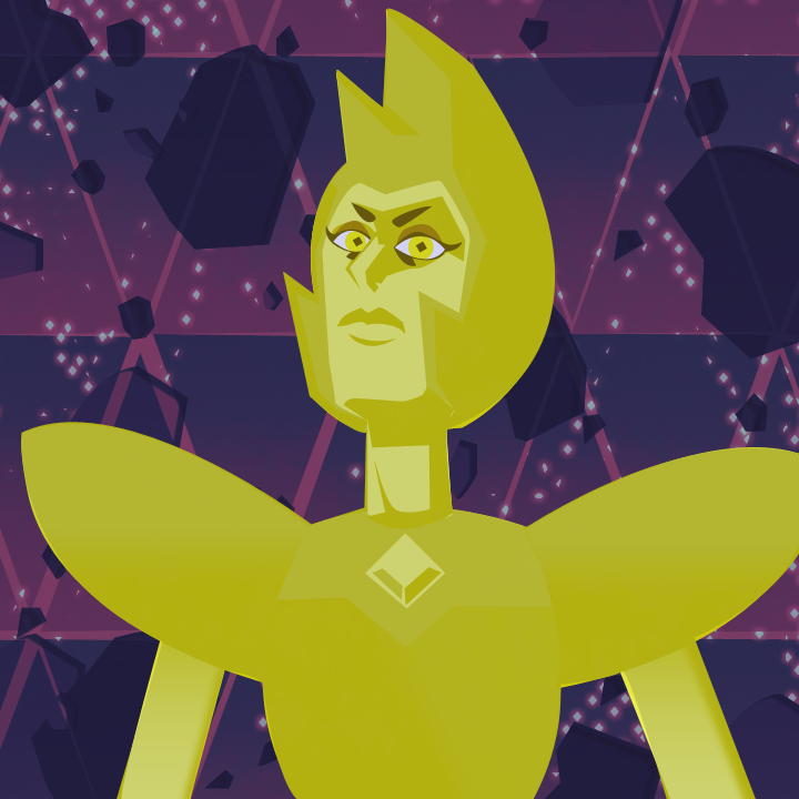 Yellow Diamond by Funkbob