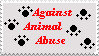 Against Abuse Stamp by RedneckOtaku