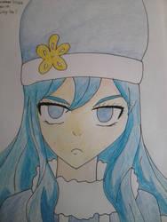 juvia fan art by animemi