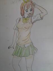 Yotsuba Nakano by animemi