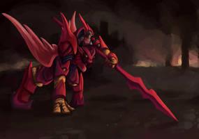 Zuraha Dragoon by icekatze