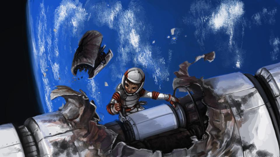 Space Repair by icekatze