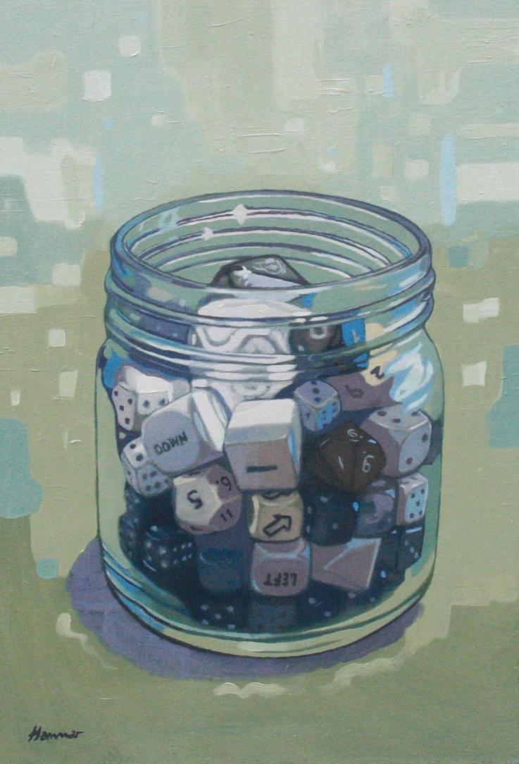 The dice by IT-Hammar