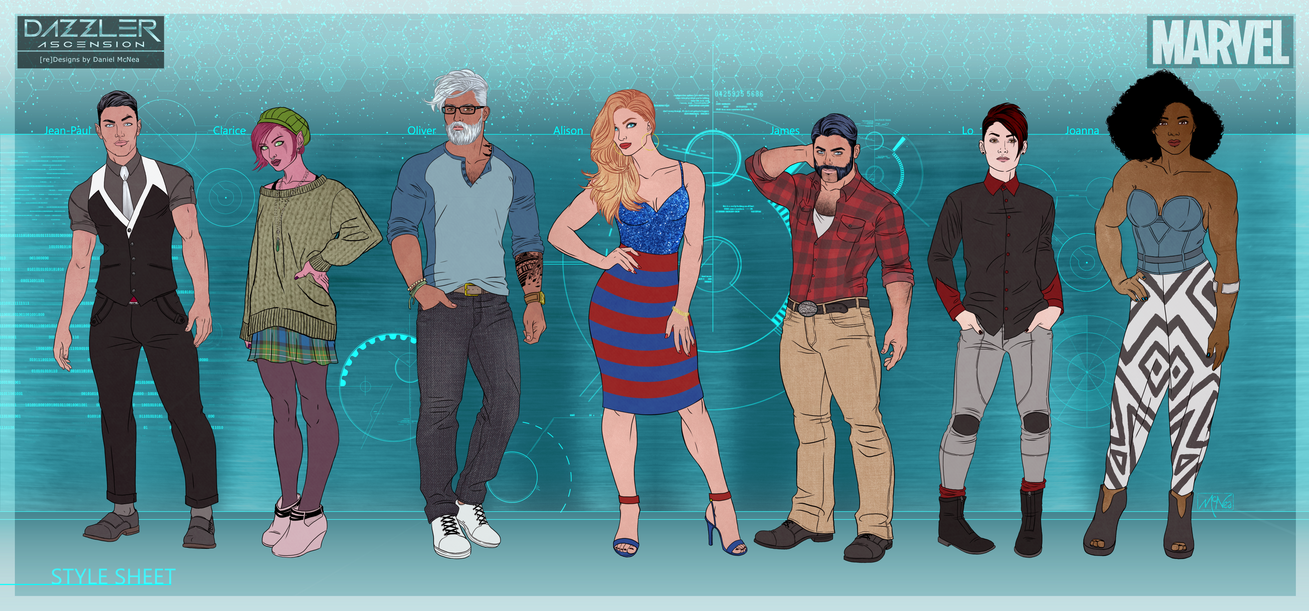 Team Dazzler: Style Parade by Lightengale