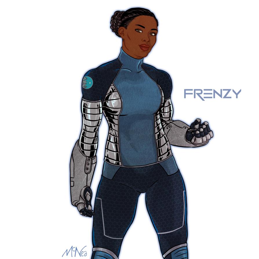 Team Dazzler: Frenzy by Lightengale