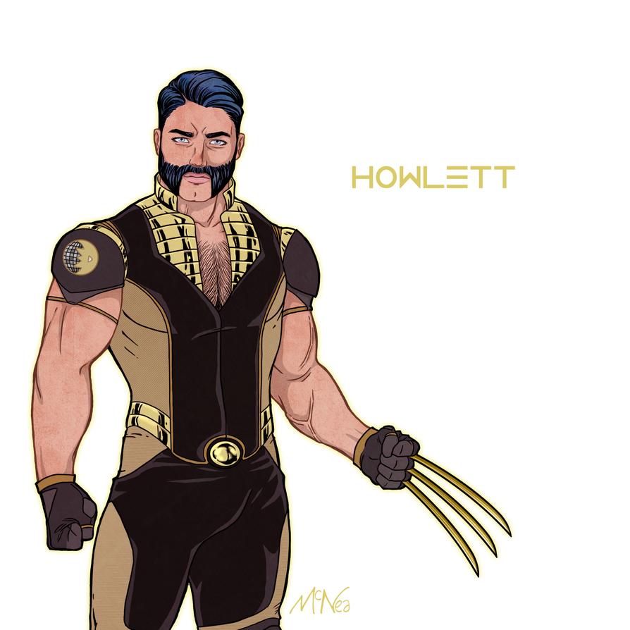 Team Dazzler: Howlett by Lightengale
