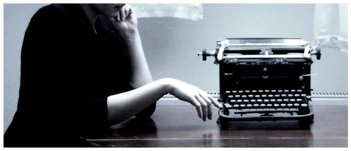 ghost's  typewriter