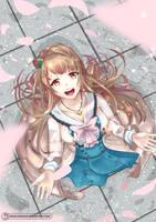 Fan art 5 - Kotori Minami by HowlingNeko