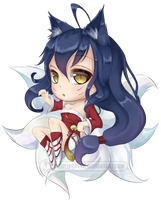 Chibi Ahri by HowlingNeko