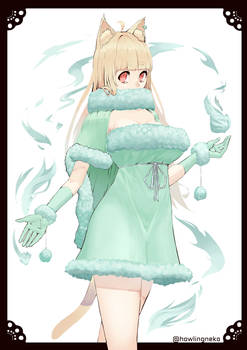 Mint Neko girl