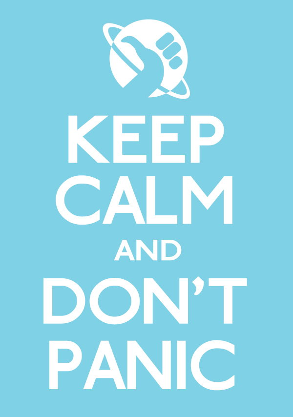 Image result for keep calm don't panic