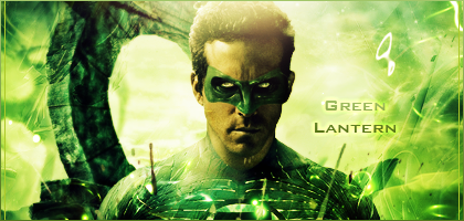Green Lantern by Doalgaz