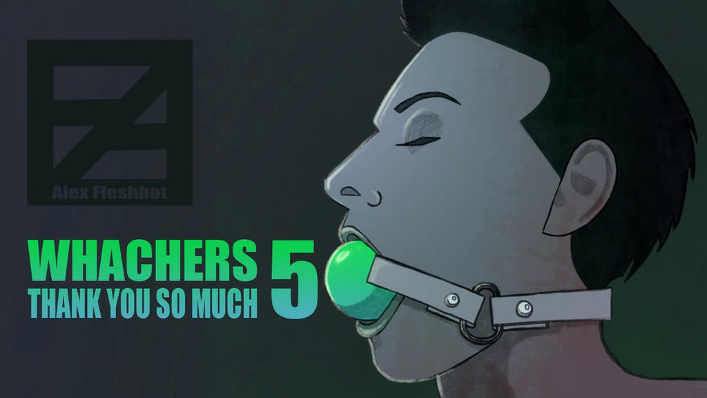 Now I have 50 watchers!  by AlexFleshbot