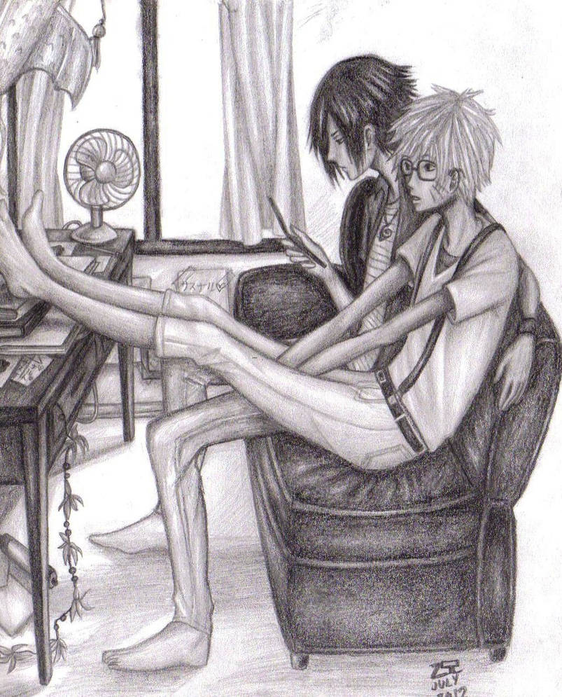 One hot summer day by animefan752 on deviantart