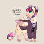 Alexandra Doncella Galaxy Auction: Closed by MiyaTheGoldenFlower