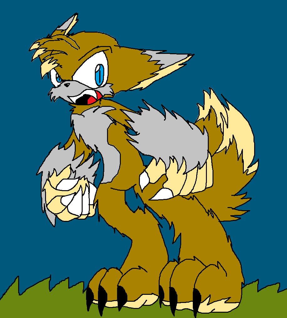 Tails The Werefox by Shadymist122 on DeviantArt Sonic The Werehog And Tails The Werefox