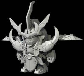 Baby Gundam by FilosoficalForest