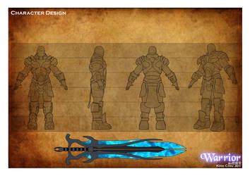 Warrior Design by FilosoficalForest