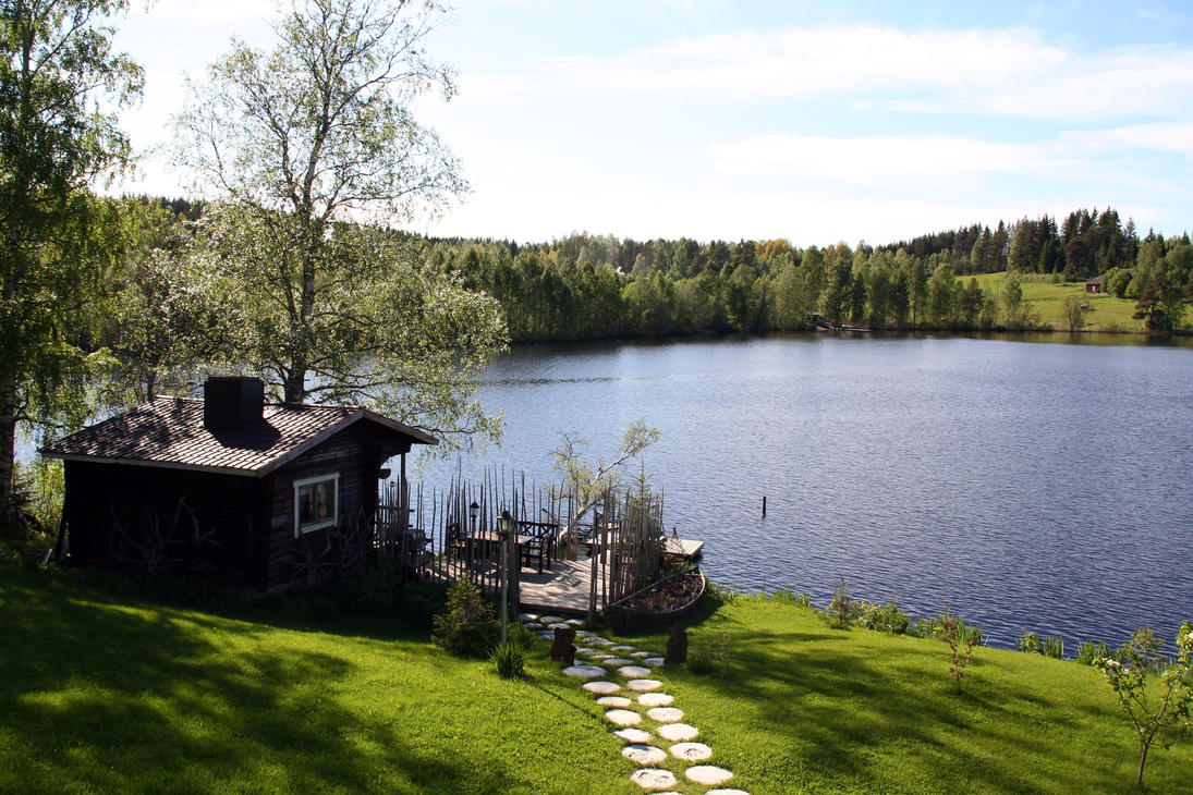 Finnish landscape by saniem on deviantart for Landscape pictures