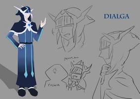 Dialga Design Sheet by Aozora210