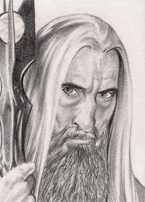 how to draw elves from lord of the rings